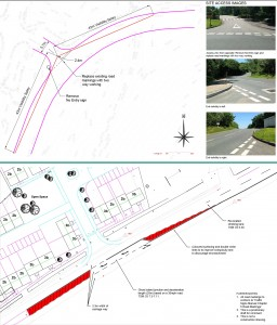 CAD drawings for planning applications by transport and highway consultant jp-transport-highway-consultant.co.uk