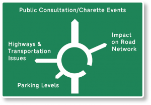 Jon Pearson Transport and Highway Consultant is available for Public Consultation and Charette Events