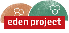 Eden Project logo. Jon Pearson of jp-transport-highway-consultant.co.uk has been appointed to provide their transportation documentation and Travel Plan for the Eden Project