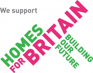 Homes For Britain Logo supported by jp-transport-highway-consultant.co.uk in Cornwall